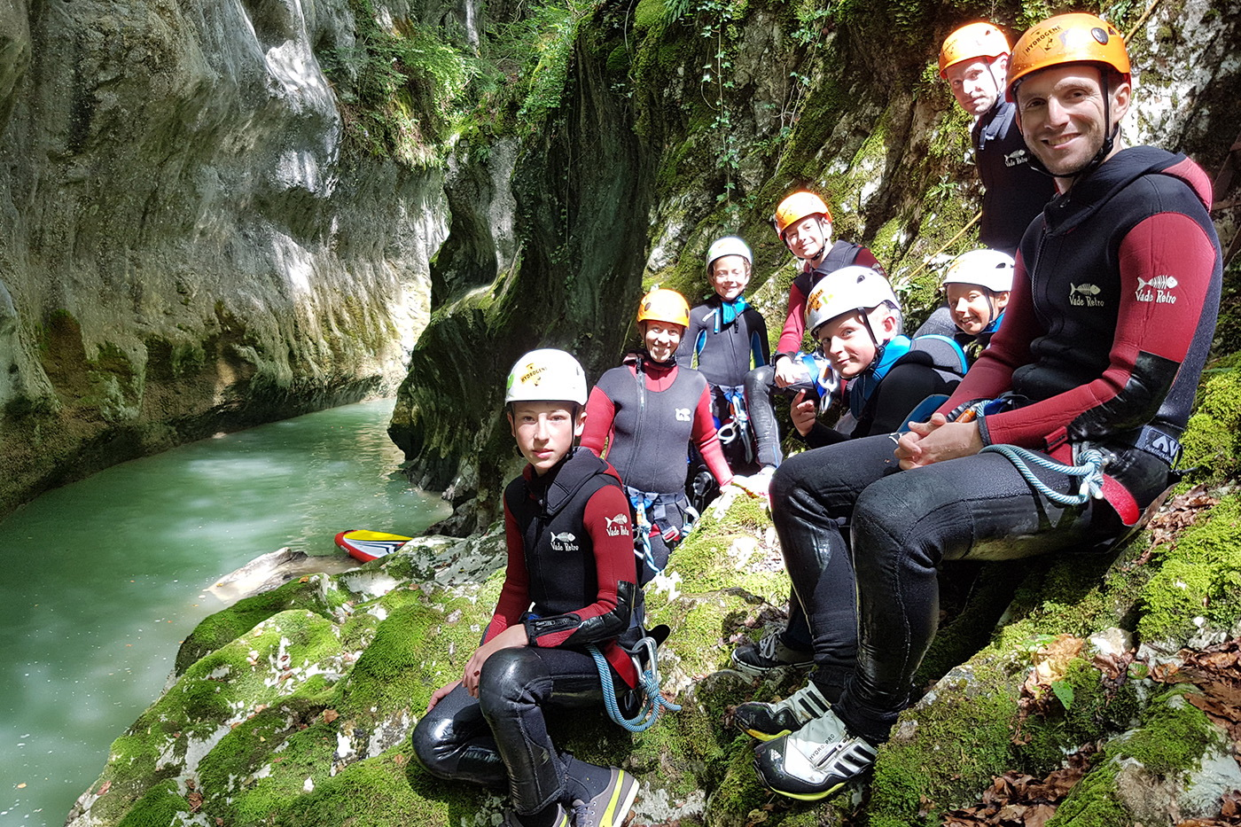canyoning chambery