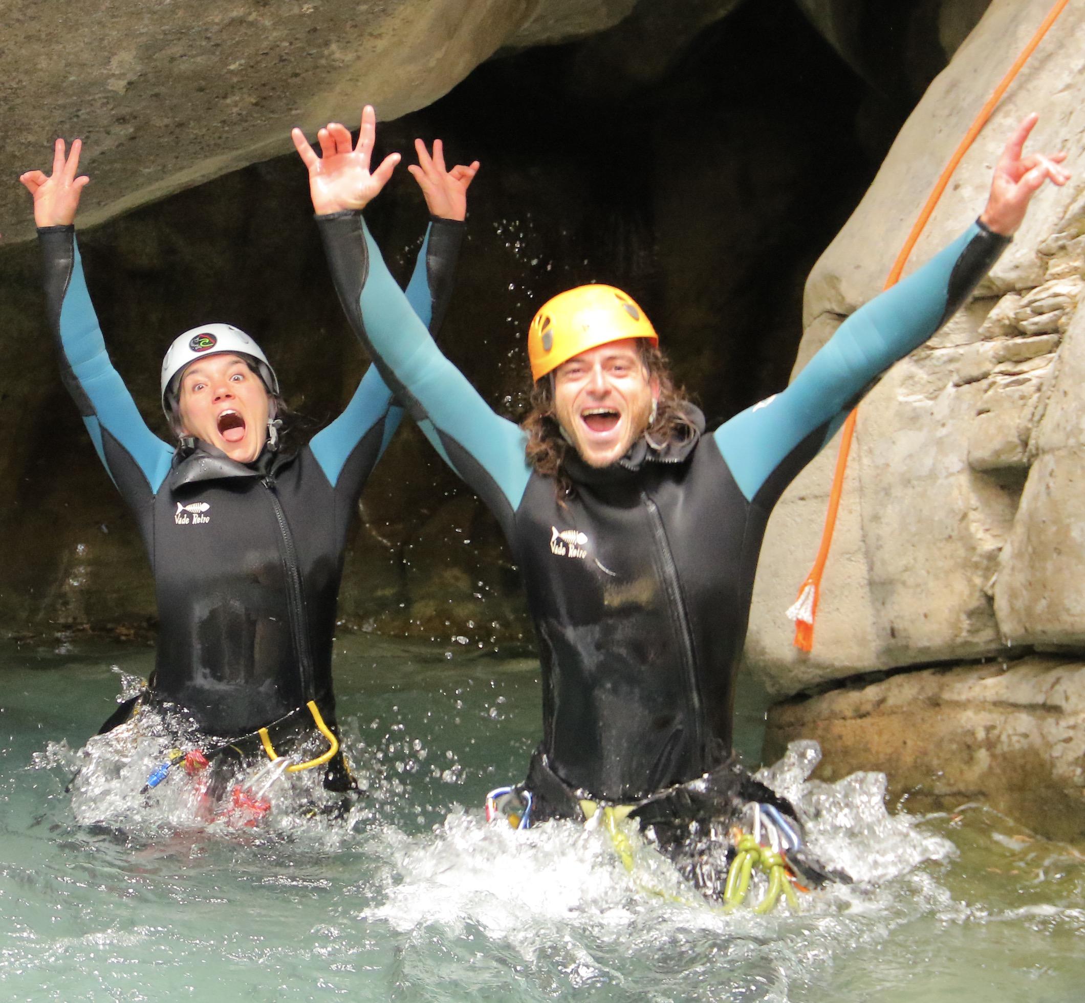 canyoning haute savoie